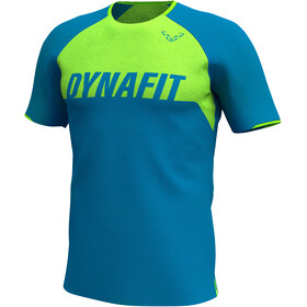 Dynafit Ride Kurzarm T-Shirt Herren blau/grün